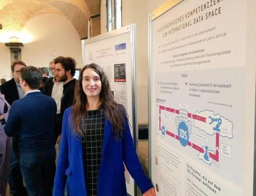 TRUSTS presented to high-ranking politician at Leibniz University Hannover