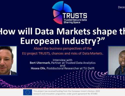 TRUSTS Podcast – How will Data Markets shape the European Industry?