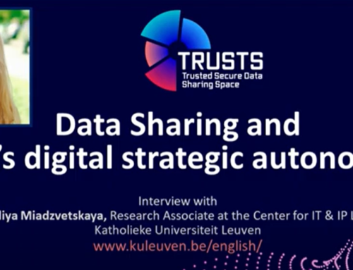TRUSTS Podcast – Data Sharing and EU's digital strategic autonomy