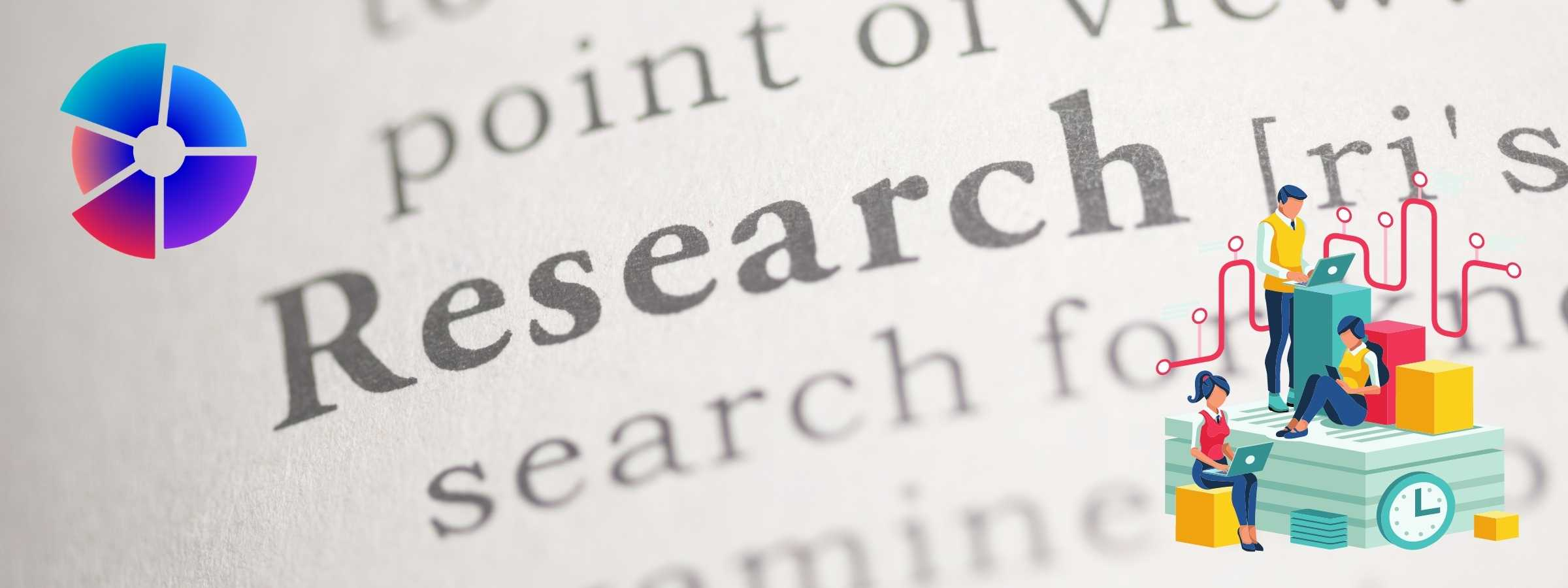 Image for Article shows the word Research in a dictionary