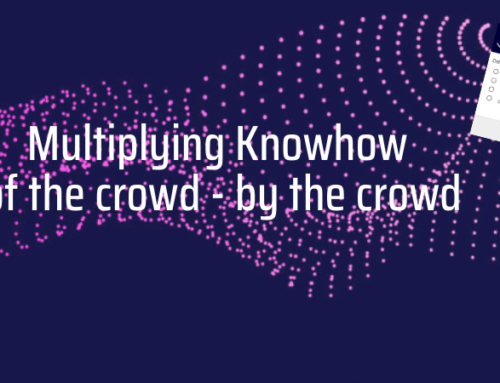 Multiplying Knowhow of the crowd – by the crowd