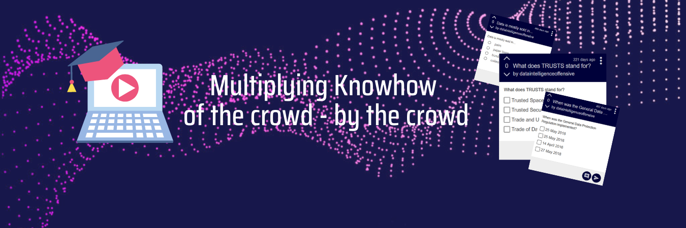 Multiplying Knowhow of the crowd - by the crowd
