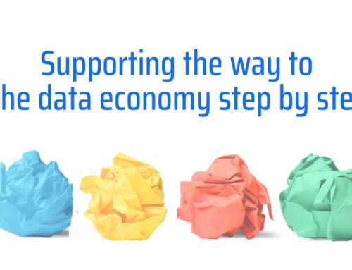 Supporting the way to the data economy step by step